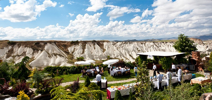 Outside  Catering –  Lunch or Dinner at Cappadocia Valleys